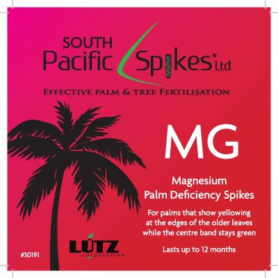 Magnesium Palm Deficiency Spikes – 5 pack