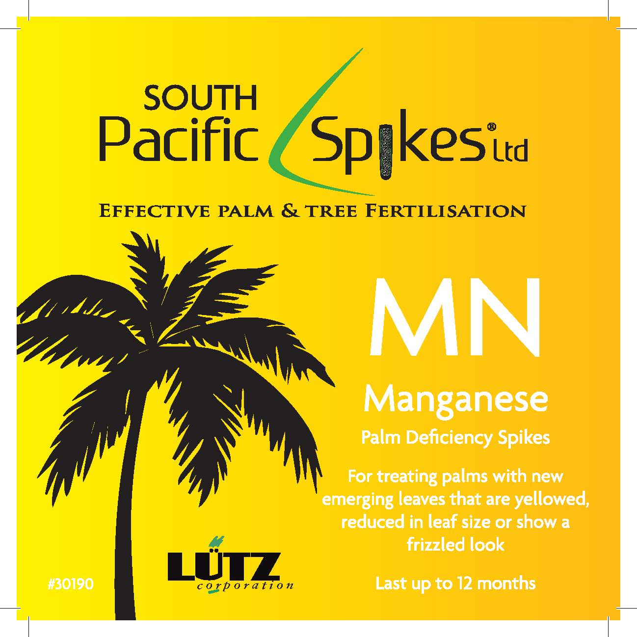 Manganese Palm Deficiency Spikes – 5 pack